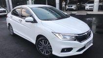 Bán Honda City 1.5CVT màu trắng, số tự động, sản xuất 2018, biển Sài Gòn