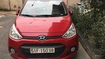 Bán lại xe Hyundai Grand i10 sản xuất 2015, màu đỏ, nhập khẩu chính chủ
