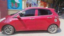 Cần bán gấp Hyundai Grand i10 MT sản xuất 2015, màu đỏ, nhập khẩu xe gia đình