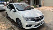 Bán Honda City 1.5CVT màu trắng, số tự động, sản xuất 2017, biển Sài Gòn