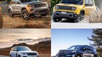 10 mẫu xe crossover 4X4 có khả năng off-road tốt bất ngờ