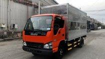 Bán xe tải Isuzu thùng kín 2T3 đời 2019, hỗ trợ vay ngân hàng cao