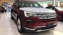 Cần bán xe Ford Explorer 2019, màu đỏ, xe nhập giá đẹp. Giao xe toàn quốc