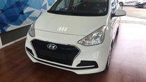 Bán Hyundai Grand I10 sedan Base trắng giao ngay, lấy xe chỉ với 120tr, hỗ trợ đăng ký Grab! LH: 0903 17 53 12