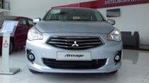 Bán Mitsubishi Attrage MT 2019 sản xuất năm 2019, màu bạc, xe nhập