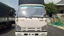 Bán xe tải Isuzu Vĩnh Phát 1 tấn 9, có kích thước lòng thùng dài lên đến 6m2