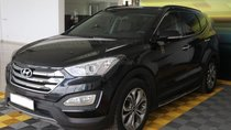 Bán Hyundai Santa Fe 2.4AT đời 2015, bản full, màu đen