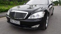 Bán Mercedes S350L sản xuất năm 2007, màu đen, máy móc zin, hộp số zin, không đâm đụng, nội thất zin