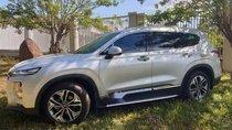 Bán xe Hyundai Santa Fe sản xuất 2019, màu bạc