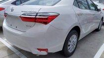 Cần bán Toyota Corolla Altis 1.8E CVT sản xuất 2019, màu trắng, mới 100%