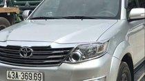 Bán Toyota Fortuner 2012, màu bạc, xe nhập