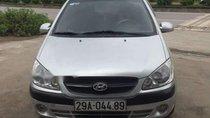 Bán gấp Hyundai Getz đời 2010, màu bạc, nhập khẩu