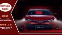 Bán xe Toyota Vios sản xuất 2019, màu đỏ, giá tốt