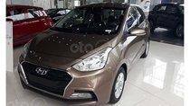 Hyundai Grand I10 1.2 MT vàng cát giao ngay, hỗ trợ đăng ký Grab, hỗ trợ vay trả góp lãi suất ưu đãi. LH: 0903 175 312