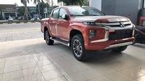 Bán Mitsubishi Triton 4x2 AT đời 2019, màu cam, nhập khẩu, hỗ trợ trả góp 80%, tại Quảng Trị