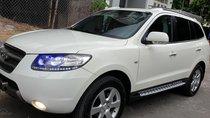 Bán Hyundai Santa Fe SLX 2.0 AT 4×2 máy dầu nhập khẩu , số tự động, đời cuối 2009màu trắng