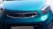 Bán Kia Morning 2013, màu xanh lam, xe nhập