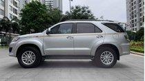 Bán xe Toyota Fortuner 2.5G đời 2015, màu bạc như mới