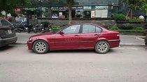 Cần bán BMW 3 Series sx 2003, màu đỏ, nhập khẩu số sàn