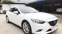 Cần bán Mazda 6 AT 2.5 sản xuất năm 2015, màu trắng chính chủ