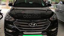 Bán ô tô Hyundai Santa Fe 2.4L 4WD đời 2017, màu đen