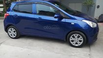 Xe Hyundai Grand i10 1.0 MT Base đời 2014, màu xanh lam, nhập khẩu, xe biển tỉnh