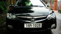 Chính chủ bán Honda Civic sản xuất 2008, màu đen