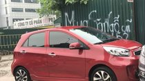 Cần bán xe Kia Morning Si AT đời 2016, màu đỏ, model 2017, vành xoắn