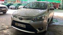Bán Toyota Vios 1.5E đời 2017, số sàn, màu vàng cát - xe tư nhân chính chủ, đi đúng 4 vạn km