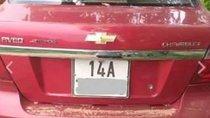 Cần bán gấp Chevrolet Aveo MT đời 2013, màu đỏ số sàn, máy khỏe