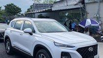 Bán xe Hyundai Santa Fe sản xuất 2019, màu trắng