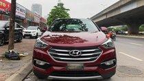 Cần bán xe Hyundai Santa Fe máy dầu 2017, màu đỏ, xe nhập