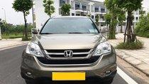 Cần bán xe Honda CRV 2010 AT bản 2.4, full màu vàng cát