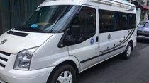 Cần bán xe Ford Transit 16 chỗ sx 2007, màu trắng, mới đi 220.000 km