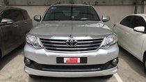 Bán Toyota Fortuner 2.7V (4x2) AT đời 2013, màu bạc, số tự động