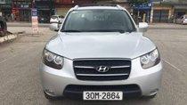 Cần bán lại xe Hyundai Santa Fe đời 2008, màu bạc, nhập khẩu nguyên chiếc số tự động, 515 triệu