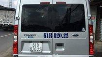 Cần bán Ford Transit Luxury SLX đời 2014, màu bạc