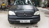 Bán Mercedes ML 320 đời 2002, màu đen, nhập khẩu, số tự động
