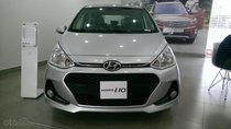Hyundai Grand I10 1.2AT màu bạc, nhận xe ngay chỉ với 130tr, ls vay cực ưu đãi, tặng bộ phụ kiện cao cấp, LH: 0903175312