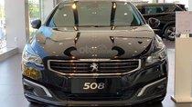 Bán Peugeot 508 năm 2015, màu đen, nhập khẩu