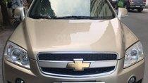 Bán xe Chevrolet Captiva LTZ 2009, số tự động, màu vàng cát