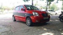 Cần bán Kia Morning SLX AT đời 2007, màu đỏ, nhập khẩu nguyên chiếc