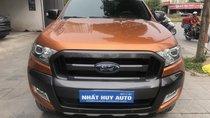 Bán Ford Ranger Wildtrak sản xuất 2017, màu cam, nhập khẩu, giá cạnh tranh