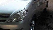 Gia đình bán ô tô Toyota Innova G 2007, màu bạc, nhập khẩu