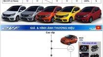 Honda Brio 2019 lộ thông số chi tiết, giá đắt nhất phân khúc?