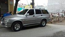Bán xe Ssangyong Musso, máy xăng 2.4AT, đời 2004 giá rẻ