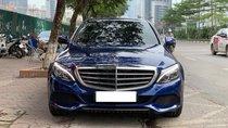 Bán Mercedes C250 Exclusive model 2018, màu xanh, siêu chất