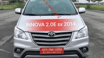 Bán ô tô Toyota Innova 2.0E đời 2014, màu bạc