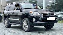 MT Auto bán xe Lexus LX 570 đã qua sử dụng SX 2014, màu đen. LH em Hương 0945392468