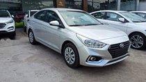Bán xe Hyundai Accent đời 2019, màu bạc, bản tiêu chuẩn